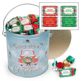 Personalized Vintage Christmas 5lb Merry Christmas Assortment