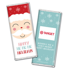 Personalized Christmas Joyful Santa Chocolate Bars