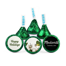 Personalized Christmas Bells Hershey's Kisses (50 pack)