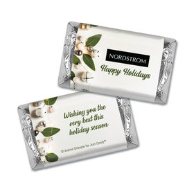 Personalized Christmas Bells Hershey's Miniatures Wrappers