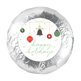"""Christmas Happiest Ornaments 1.25"""" Stickers (48 Stickers)"""