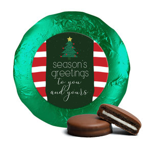 Christmas Very Merry Greetings Chocolate Covered Oreos