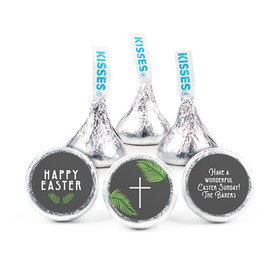 Personalized Easter Botanical Bible Verse Hershey's Kisses (50 pack)