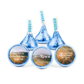 Personalized Easter Divine Scenery Hershey's Kisses (50 pack)