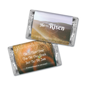 Personalized Easter Divine Scenery Mini Wrappers