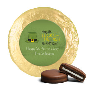 Personalized St. Patrick's Day Rustic Irish Hat Chocolate Covered Oreos