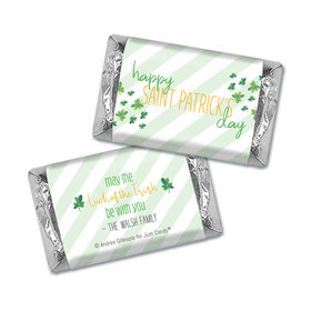 Personalized St. Patrick's Day Floating Clovers Mini Wrappers