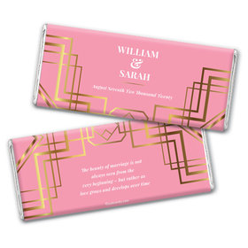 Personalized Classic Wedding Chocolate Bar Wrappers Only