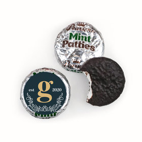 Personalized Wedding Antique Rustic Pearson's Mint Patties