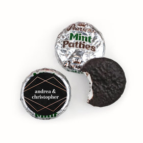 Personalized Wedding Growing Love Pearson's Mint Patties