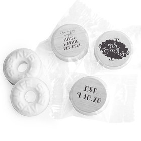 Personalized Wedding The Happy Couple LifeSavers Mints
