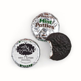 Personalized Wedding The Happy Couple Pearson's Mint Patties