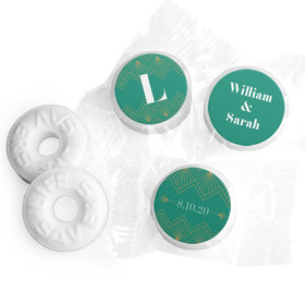 Personalized Wedding Lace & Love LifeSavers 5 Flavor Hard Candy