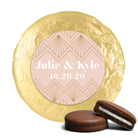 Personalized Wedding Lace & Love Chocolate Covered Oreos (24 Pack)