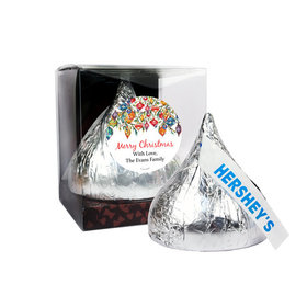 Personalized Ornate Ornaments 12oz Giant Hershey's Kiss