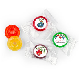 Personalized Life Savers 5 Flavor Hard Candy - Christmas Ornaments