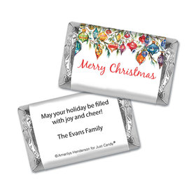 Personalized Mini Wrappers - Christmas Ornaments