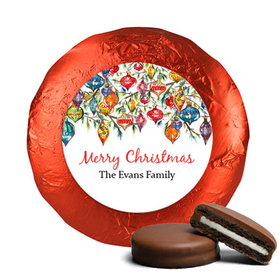 Personalized Chocolate Covered Oreos - Christmas Ornaments