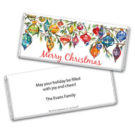 Personalized Chocolate Bar Wrappers Only - Christmas Ornaments