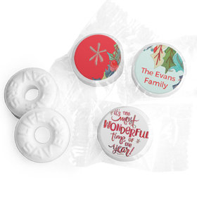 Personalized Life Savers Mints - Christmas Wonderful Time