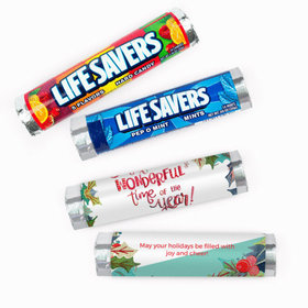 Personalized Christmas Most Wonderful Time of Year Lifesavers Rolls (20 Rolls)