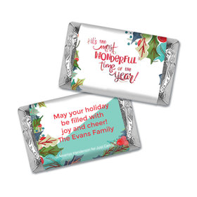 Personalized Mini Wrappers - Christmas Wonderful Time