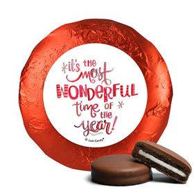 Personalized Chocolate Covered Oreos - Christmas Wonderful Time