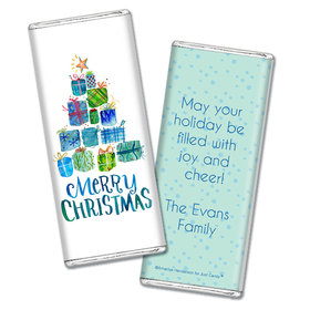 Personalized Chocolate Bar Wrappers Only - Christmas Presents