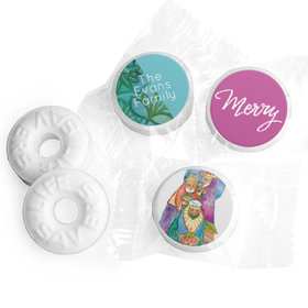 Personalized Life Savers Mints - Christmas Wise Men