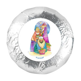 """Personalized 1.25"""" Stickers - Christmas Wise Men (48 Stickers)"""