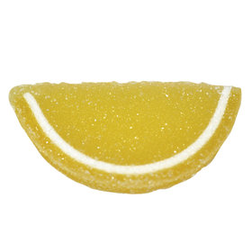 Lemon Fruit Jelly Slices