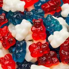 Freedom Gummi Bears - Red, White, and Blue