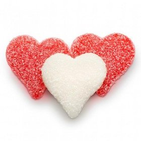 Valentine's Day Sour Gummi Hearts