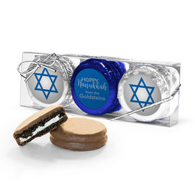 Personalized Happy Hanukkah 3Pk