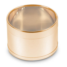 Medium Gold Round Tin (50 Pack)