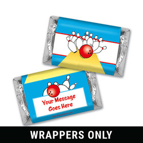 King Pin Personalized Miniature Wrappers