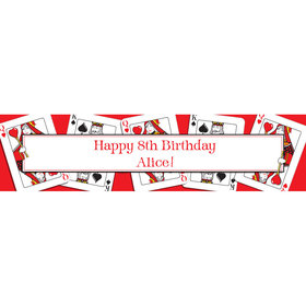 Casino Party Personalized Banner