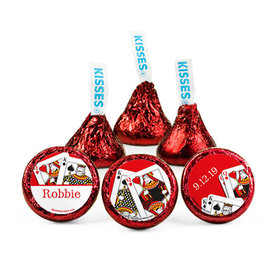 Personalized Birthday Casino Hershey's Kisses (50 pack)