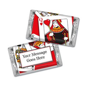 Lady in Red Personalized Miniature Wrappers