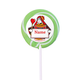 """Casino Party Personalized 2"""" Lollipops (24 Pack)"""