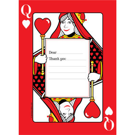 Casino Party Personalized Thank You Note