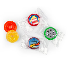 Birthday Hollywood Themed Personalized 5 Flavor Hard Candy