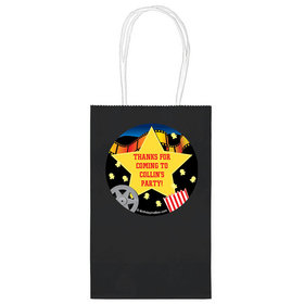 """Movie Party Personalized 5"""" Handle Bags (24 pack)"""