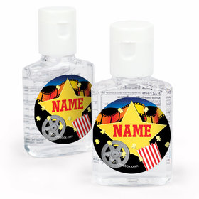 Movie Party Personalized Hand Sanitizer (set of 12)