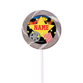 """Movie Party Personalized 2"""" Lollipops (24 Pack)"""
