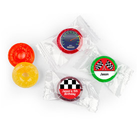 Birthday Racing Themed Personalized 5 Flavor Hard Candy
