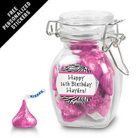 Birthday Personalized Latch Jar (6 Pack)