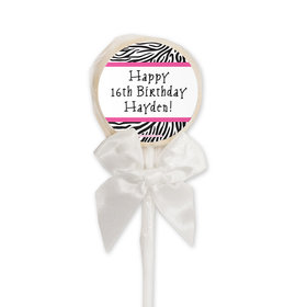 Birthday Personalized Lollipop (24 Pack)
