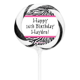 "Birthday Personalized 3"" Whirly Pop (24 Pack)"