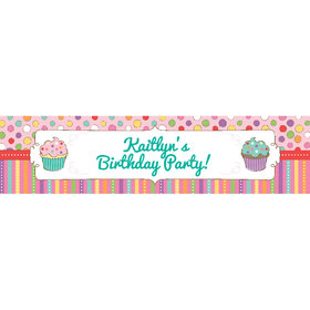 Personalized Sweet Party Banner